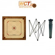 Pack Carrom Champion + Pieds